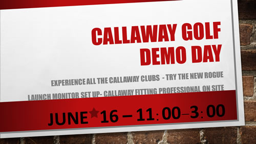 Callaway Demo Day 2018a