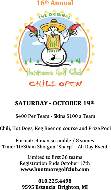 Chili Open 2019 Flyer
